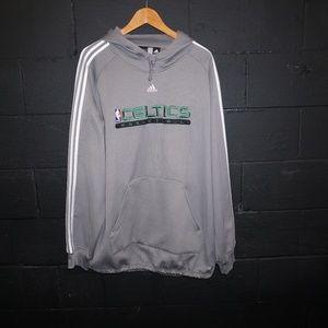 ADIDAS nba fusion Boston Celtics Hoodie Sweatshirt